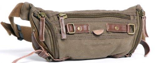 vagabond-traveler-105-stylish-trapezium-canvas-waist-fanny-pack-c83-green