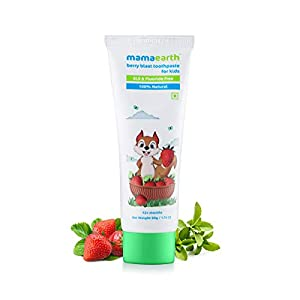 Mamaearth-100-Natural-Berry-Blast-Kids-Toothpaste-50-Gm-Fluoride-Free-SLS-Free-No-Artificial-Flavours-Best-for-Baby