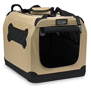 Petnation Port-A-Crate E2 Indoor/Outdoor Pet Home for Pets Up-To 15-pound, 20-Inch