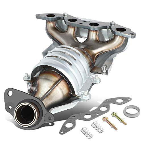 OE Style Catalytic Converter Exhaust Manifold Replaces for Honda Civic DX LX CX VX HX 1.7L 01-05