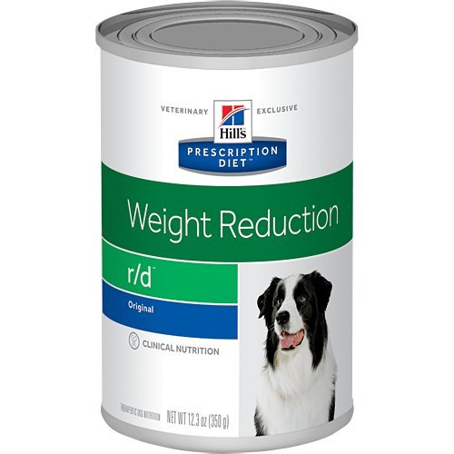 Hill's Prescription Diet r/d Weight Reduction Original Canned Dog Food 12/12.3 oz