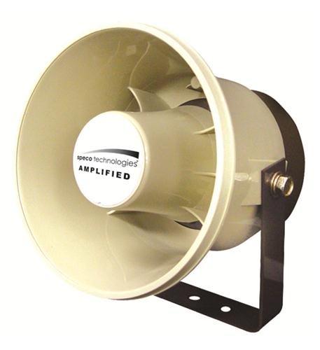 SPECO ASPC20 20W 6 Weatherproof Amplified PA Speaker Also for Digital Deterrent