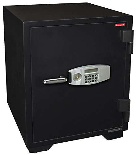 - Honeywell Safes & Door Locks - 2118 Steel Fireproof Security Safe with Dual Digital Lock and Key Protection, 3.44-Cubic Feet, Black