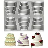 Wilton 6-Cavity Mini-Tiered Cake Pan