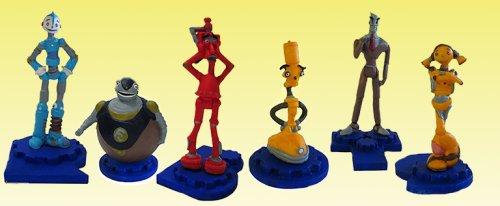 6 Vending Machine Toys - Robots Movie - Set of 6 Figures -- Vending Machine Toys