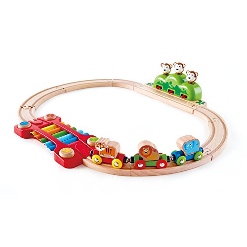 Monkey Train - Hape Music and Monkeys Toddler Railway Train
