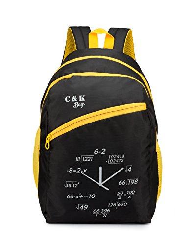 Chris  amp; Kate 31 liters 24 cm School Bag  CKB_119SS_Black