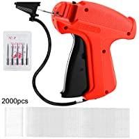 EZHome Price Tag Gun with 5 Needles & 2000 Fasteners
