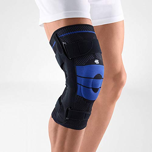 Bauerfeind - GenuTrain S - Knee Support - Extra Stability to Keep The Knee in Proper Position - Right Knee - Size 3 - Color Black (Medicine To Reduce Weight Without Side Effects)
