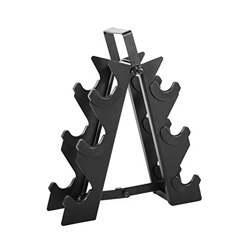 CAP Barbell Metal Dumbbell Stand with Handle | Dumbbell Rack