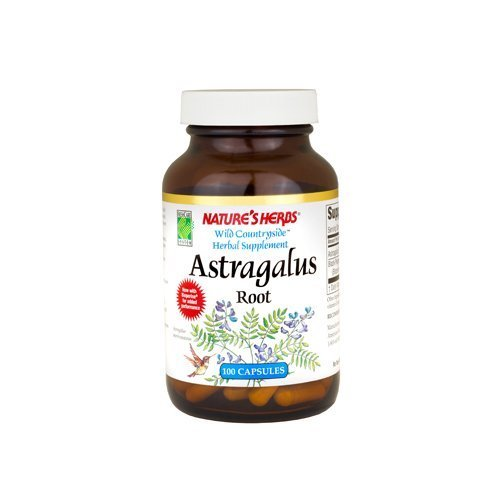 NATURE'S HERBS Astragalus 400mg 100 CAPS by Nature's Herbs 400 Mg Nutrition Herbs