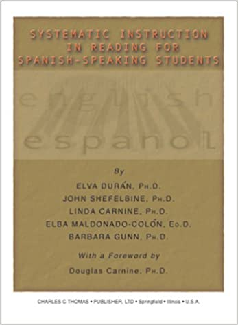 Amazon Systematic Instruction In Reading For Spanish Speaking