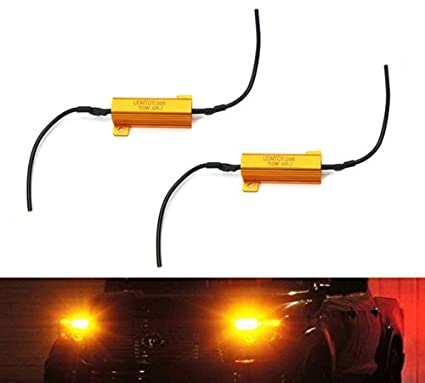 Amazon.com: iJDMTOY 50W 6-Ohm Load Resistors For LED Turn Signal ...