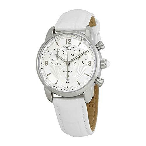 Certina - Wristwatch,Quartz Chronograph, Leather, Woman 1
