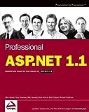 Professional ASP. NET 1. 1, Alex Homer and Dave Sussman, 0764558900