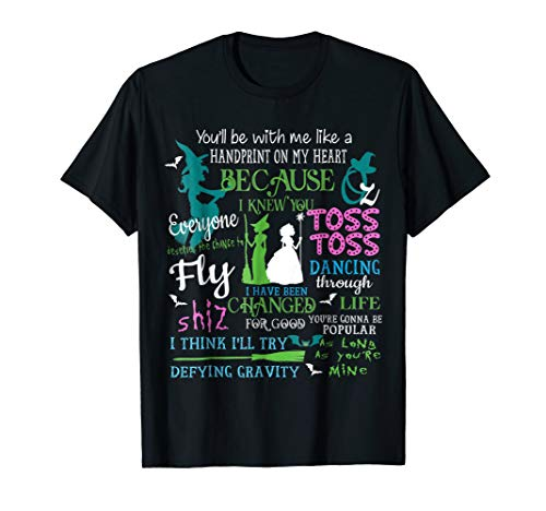 Wicked Musical Tee Shirt