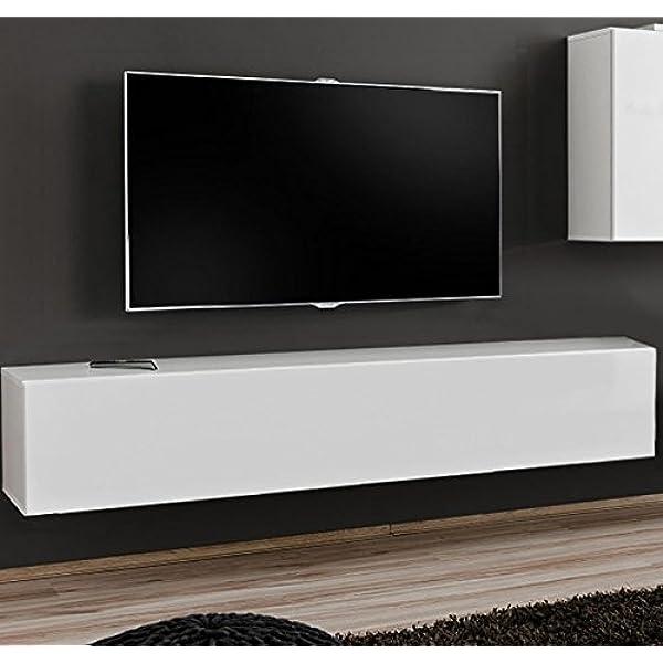 muebles bonitos – Mueble TV Modelo Berit H180 Blanco: Amazon.es: Juguetes y juegos
