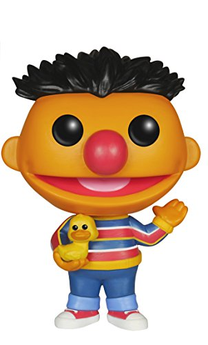- Funko POP TV: Sesame Street Ernie Action Figure