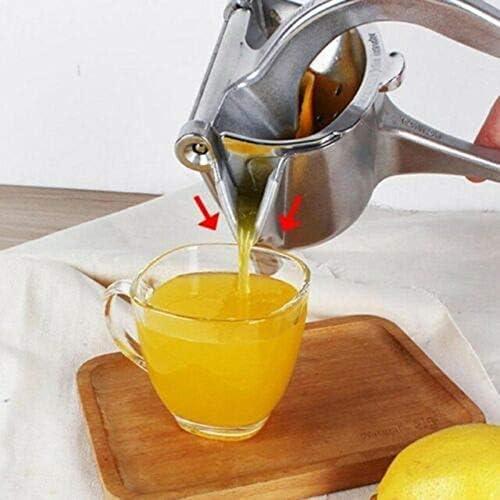 Zzxx Exprimidor de limón, exprimidor Manual, exprimidor de limón de Aluminio de Alta presión para Trabajo Pesado, exprimidor Manual de Frutas, exprimidor Manual