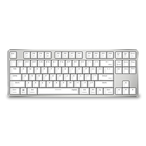 Best Rapoo Wireless Gaming Keyboards - RAPOO USB Wired Portable Keyboard with