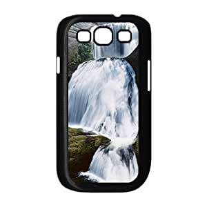TOSOUL Phone Case Waterfall Hard Back Case Cover For Samsung Galaxy S3 I9300