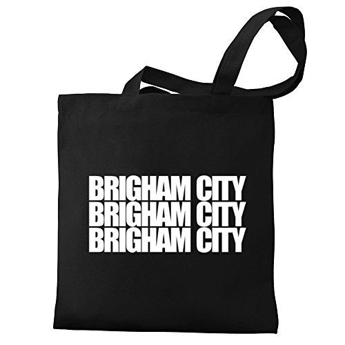 words Eddany words Tote Brigham Bag Brigham Canvas Eddany three Tote City City Canvas three wIqSCS