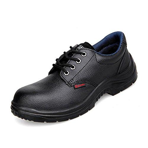 QiangRen , Chaussures de running pour homme Noir noir