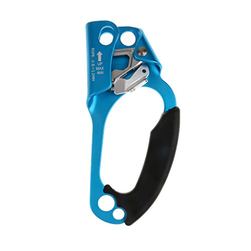 mbing Tree Arborist Right Hand Ascender Hot Forged Aluminum Ascender Equipment Gear for 8-12mm Rope Outdoors ()