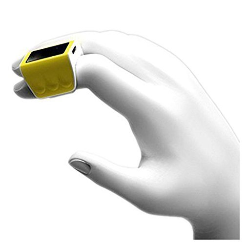 (Finger Ring Mouse - TOOGOO(R) Brand New Smart Wireless Bluetooth Human Sensor 3D Finger Ring Mouse - Remote Control - Body Sensor with Bluetooth 4.0 - Low-energy and Long Stand-by Time)