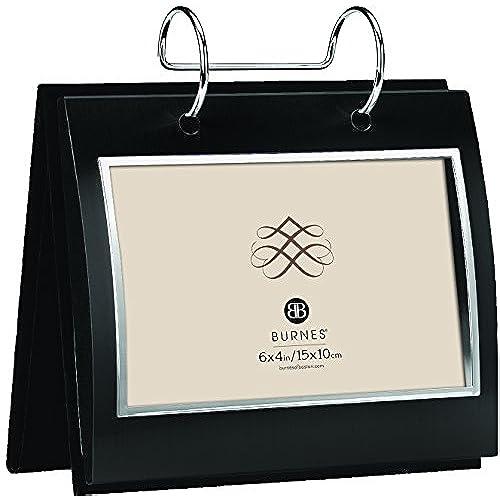 6x4 burnes of boston framed front flip album