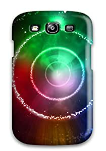 Ernie Durante Jackson's Shop 1506563K21920324 New Arrival Cover Case With Nice Design For Galaxy S3- Rainbow Star Circles