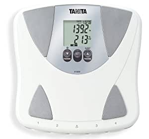 Tanita BF-683W Body Fat/Body Water Feature, White