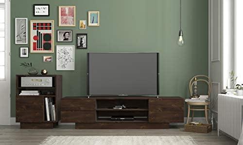 Nexera 115461 Morello - Soporte para televisor, 182,88 cm, diseño ...