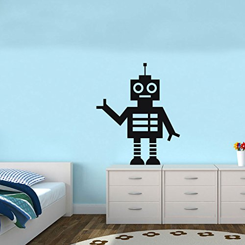 (SPACE ROBOT- Vinyl Wall Art Sticker Decals - 28
