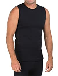 Delfin Spa Men's Heat Maximizing Neoprene Compression Fitness Top