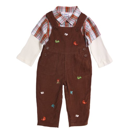 NWT Baby Togs Boys 2 pc cord overalls set