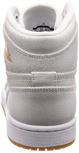 para Gold 107 White Mujer Jordan Multicolor 607 Ah7389 Metallic xE0wwq8gC