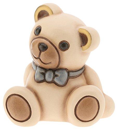 Teddy Ceramic Collectible (Thun Classic Teddy Him, Ceramic, Multicoloured, 7.2x 7x 8cm)