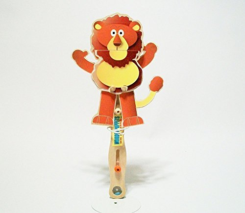 Puppets Wizard Hand Of Oz (Wizard Of Oz wooden toy puppet -Brave Lion)