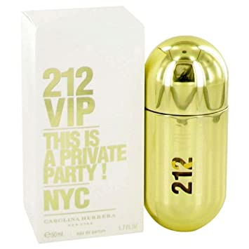 9270e6c59 Amazon.com   Carolina Herrera 212 Vip Eau de Parfum Spray for Women ...