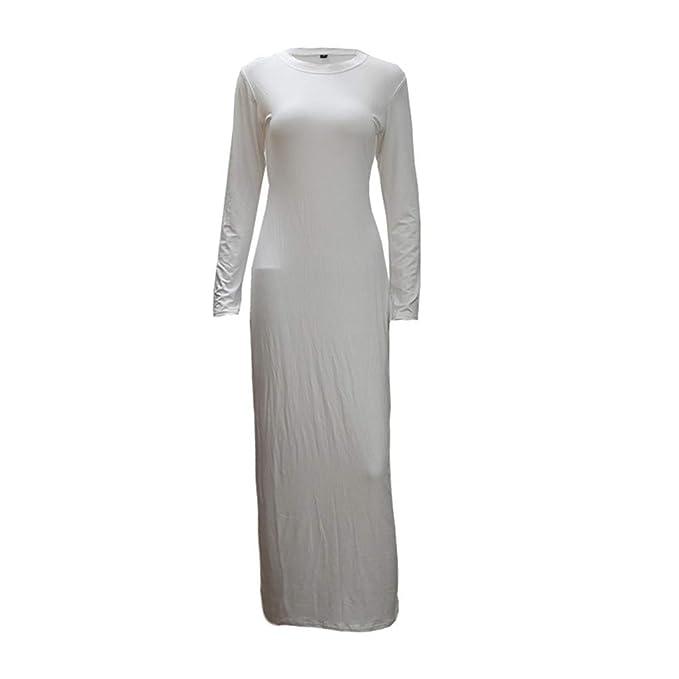MERICAL Moda Vestido de Mujer Maxi musulmán Manga Larga Abaya Kaftan Batas Ropa Elegante y Noble: Amazon.es: Ropa y accesorios