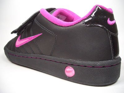 Nike Court Tradition 2 354599/600 – 061 NERO Velcro Velcro – rosa dimensioni Euro 35/US 3Y/UK 2,5/22 cm