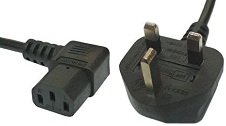 3M, 90° RIGHT ANGLE IEC C13 SOCKET TO