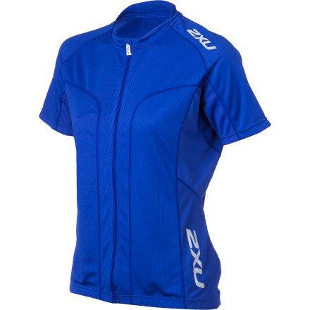 8bf82cef5 Amazon.com   2XU Road Comp Jersey - Women s Northern Lights Blue
