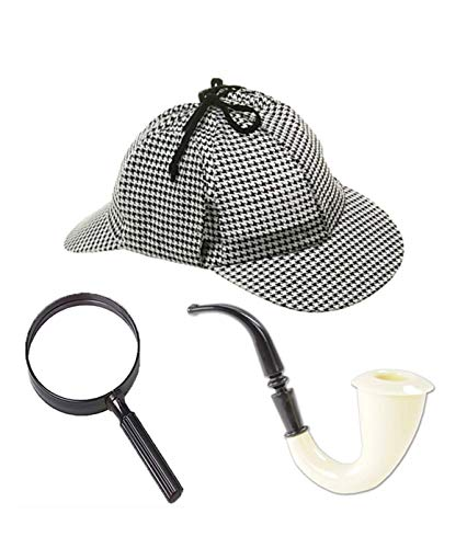 Nikki's Knick Knacks Sherlock Holmes- Inspector- Detective- Role Play Dress Up Costume