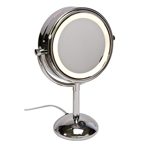 Harry D Koenig & Co Lighted Vanity Mirror, Round, 8 Inch Review