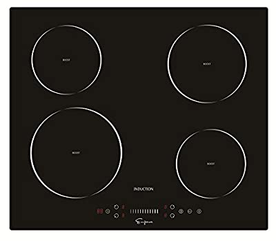 "Empava 24"" Electric Induction Cooktop With 4 Booster Burners Smooth Surface Black Tempered Glass EMPV-IDC24"