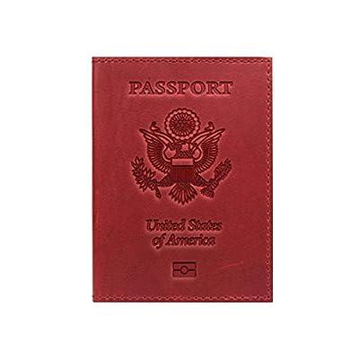 fe9f554814 cheap Passport Cover-Holder -100% Leather-for Men   Women- Passport ...