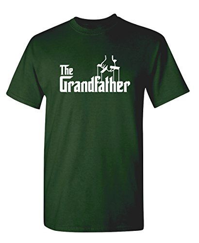 The Grandfather Gift for Dad Fathers Day Mens Novelty T Shirt 2XL Forest
