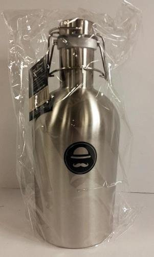 Ross & Rye 64 Ounce Stainless Steel Beer Growler
